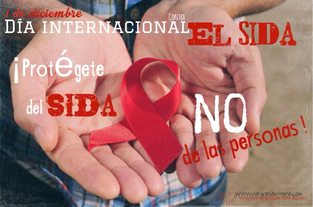 ¡Protégete del SIDA, NO de las personas!