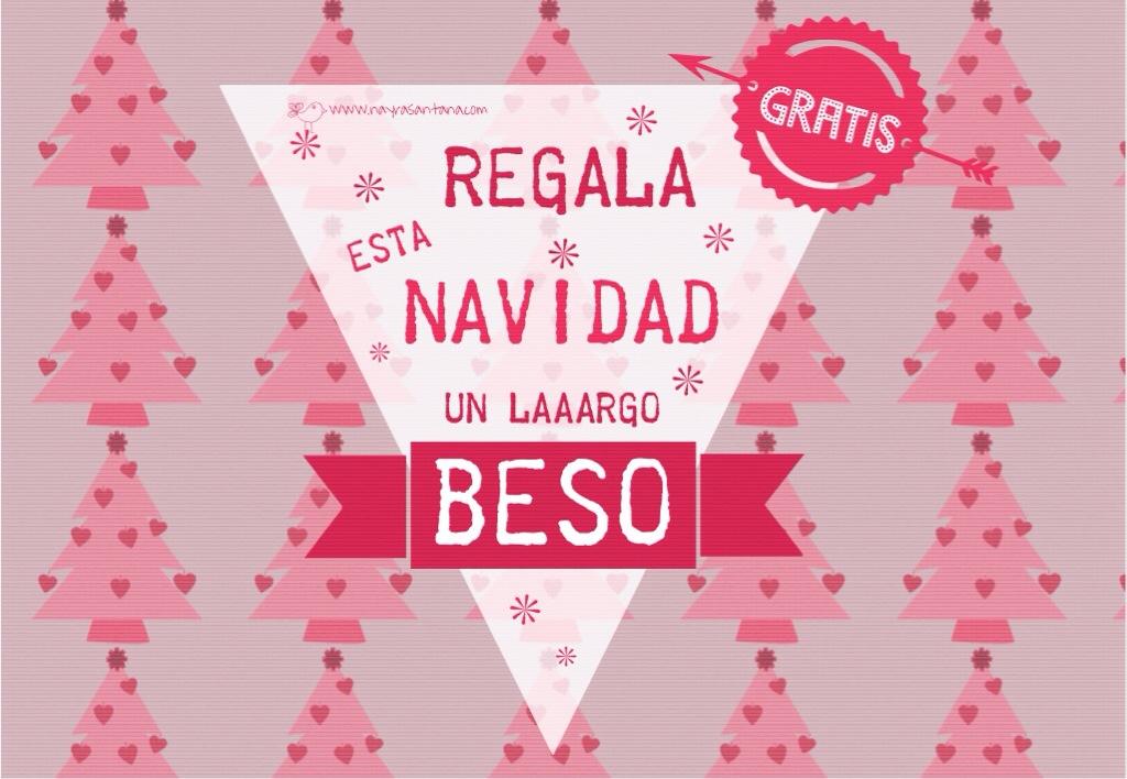 Navidad_Beso