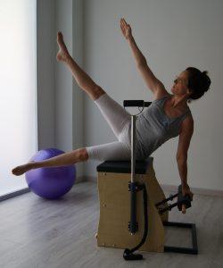 Emilie Baudoin. Directora e instructora Delta Pilates.